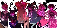 So beautiful but also so sad. All my favourites died in chapter 3. Danganronpa v3
