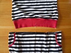 Dámské úpletové šaty s pružným pasem a kapsami | Couture, Sewing, Model, Fashion, Bags Sewing, Sewing Patterns, Moda, Dressmaking, Costura