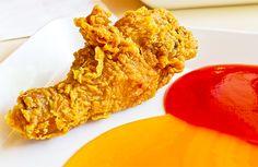 """Pollo """"Corn flakes"""" o pollo rebozado con cereales"""