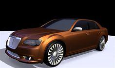 2013 Chrysler 300 Turbine Concept #car