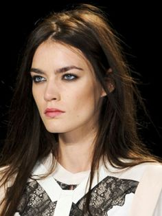 Love this makeup & hair by BCBG @ nyfw