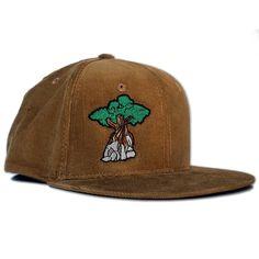 abcb3cf3 Juniper Tree Corduroy Snapback Hat - Coyote