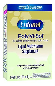 Enfamil PolyViSol Liquid Multivitamin Supplement 50 mL Pack of 2 >>> Find out more about the great product at the affiliate link Amazon.com on image.