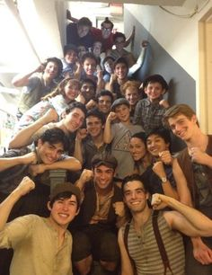 Love this cast of newsies... can't wait to see the movie
