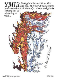 Ymir (Norse Myth) Comic Art