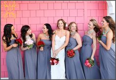 Love this picture, and really these colors. Not for my wedding, but nice to look at! :)