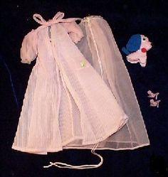 VINTAGE BARBIE NIGHTY NEGLIGEE SET #965 (1959-1964)