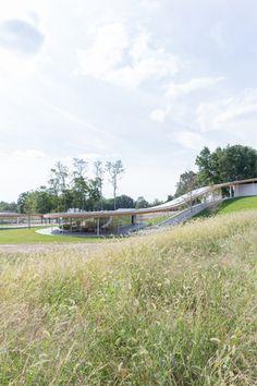 Grace Farms. Kazuyo Sejima+Ryue Nishizawa / SANAA Architects. New Canaan, Connecticut. USA. Photo © Iwan Baan