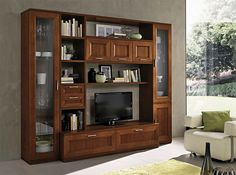 Contemporary Italian Wall Unit Paris 605 by Artigian Mobili - $4,859.00