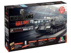 Model Italeri 36501 tank destroyer Ferdinand World of Tanks, plastikowy model do sklejania w skali 1/35.