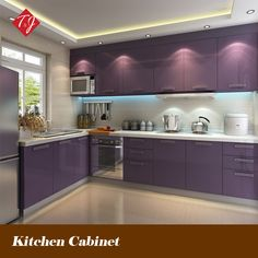 indian kitchen cabinets l shaped - Google Search