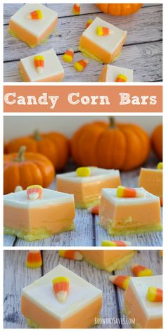 These healthy Candy Corn Bars are made with Yogurt and Jell-O. Both fat and…