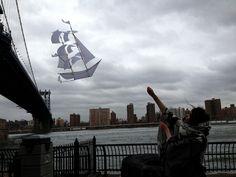 sailing ship kite from haptic lab