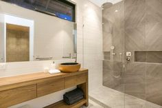 Contemporary Bathroom  31A Noble Street Barwon Heads - New Home Builder Geelong and Surfcoast - Living Edge Properties