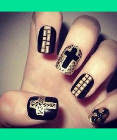 hipster nails :*