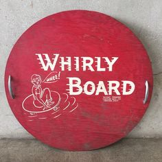 Vintage Whirly Board