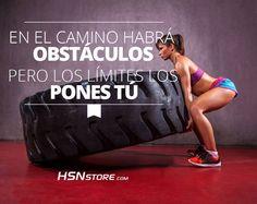 En el camino habrá obstáculos pero los límites los pones tú. #fitness…