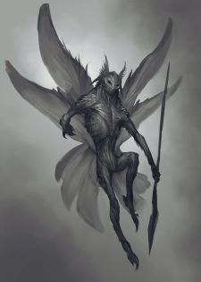 View an image titled 'Dark Elf Design Concept Art' in our God of War art gallery featuring official character designs, concept art, and promo pictures. Alien Character, Character Art, Character Design, Dark Fantasy, Fantasy Art, Monster Design, Monster Art, Creature Concept Art, Creature Design
