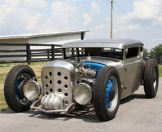 Ridge Park Speed's shop car - the Ridge Park Terror 1930 Model A Ford Coupe!