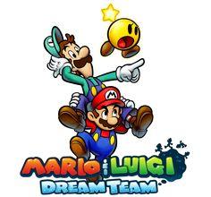"Mario and Luigi: Dream Team by Legend-tony980.deviantart.com  New game to the ""Mario and Luigi"" games. Coming soon!"