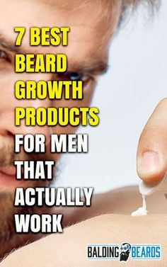 8 Best Beard Growth Products for Men That Actually Work 2020 Beard Growth Tips, Beard Hair Growth, Facial Hair Growth, Hair Growth Tips, Beard Tips, Bald Men With Beards, Great Beards, Awesome Beards, Growing Facial Hair