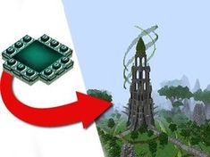 How To Transform An End Portal - EPIC Build! - by Jeracraft - YouTube