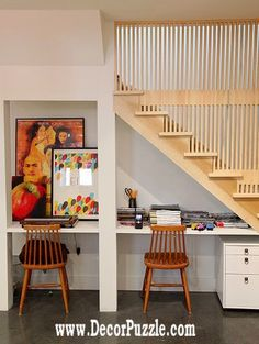 under stairs ideas and storage solutions, under stairs study area  The best under stairs ideas by perfect designers with the top under stairs storage solutions, see the innovative ideas