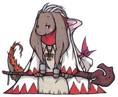 Nu Mou White Mage: Final Fantasy Tactics Advance