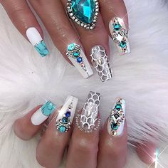 """✨LUXURY NAIL LOUNGE✨ on Instagram: """"➡️ Throwback Thursday! ⬅️ crushing over these mermaid vibes today!  ✨ Mermaid Fantasy ✨ #glamourchicbeauty #glamourchic #gcnails…"""""""