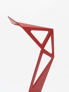 NEUE SAMMLUNG - KONSTANTIN GRCIC / CHAIR ONE Art Direction: Lambl/Homburger Exhibition: Neue Sammlung / Pinakothek der Moderne / The Design Museum Title: Konstantin Grcic - The Good, The Bad, The Ugly