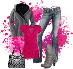Kiara Tabil you would look hit in this.  Pink & Grey