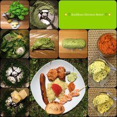 ☀️ Grillwetter ☀️ Genial zu gegrilltem Fisch oder Fleisch: *** Basilikum-Zitronen-Butter *** … frisch-würzig