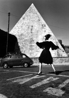 William Klein Dorothea McGowan, 1962.