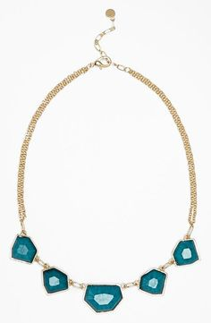 Cute! Stone Statement Necklace (only $20)