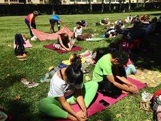 """Ligia Pérez-Córdova la Práctica de @yogaconexionfamilia 10/3/18 EL ARTE DE ENSEÑAR A VIVIR EN YOGA: HORARIOS: Actividades de YogaLibre: 1) Prácticas Lunes Miércoles y Viernes de 2- 6:30 pm. Con los instructores de YogaLibre. Corrección alineación Ajustes y desarrollo de  Posturas. Yoga para niños en los condominios. ! Estas Practicas son Gratis! Agradecemos cualquier aporte. 2) Domingo: """"En el Ávila Es la cosa"""" Salida Sede YogaLibre hora a convenir. Compartir al regresar de las Cascadas…"""