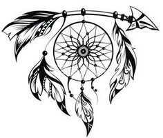 Free Dream Catcher Coloring Pages Unique Heart Shaped Dreamcatcher Drawing at Getdrawings Atrapasueños Tattoo, Tattoo Hals, Hand Tattoo, Body Art Tattoos, Tattoo Drawings, Sleeve Tattoos, Tribal Drawings, Cross Tattoos, Girl Tattoos