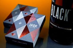 playing cards package design | JAQK Signature Playing Cards Package design | Package Design