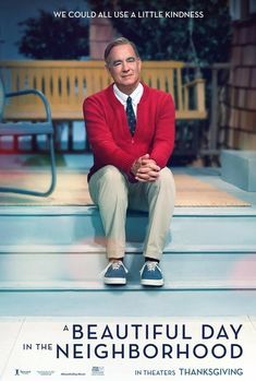 Fred Rogers, Tom Hanks, Movie Theater, Movie Tv, Perry Mason, Cinema, New Poster, Esquire, Beautiful Day