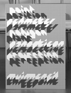 MuirMcNeil ThreePoint Poster: silk-screened Black Naturalis Absolute Smooth, 160gsm, 100x70cm, Edition 100
