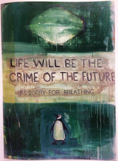 Harland Miller, from International Lonely Guy