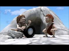 Stone Age Vs Modern Age-  Funny Short Animation HD - YouTube