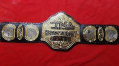 Real Leather Belt, Leather Belts, Soft Leather, Wwe Championship Belts, World Heavyweight Championship, Wwe Edge, Stone Cold Steve, Professional Wrestling, Gold Polish