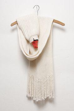 birdy scarf by Ninafuehrer on Etsy