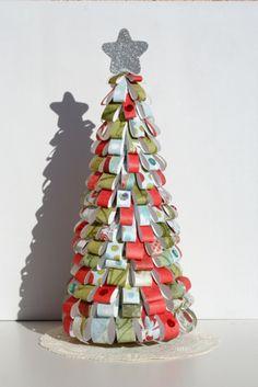 Árbol Navidad papel