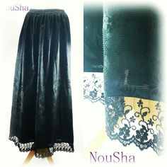 Love princess style! What an elegant black... So much suitable for those whom wears hijab. www.noushastore.com
