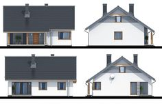 Projekt domu Talia, wizualizacja 4 Outdoor Decor, Modern, Home Decor, Trendy Tree, Decoration Home, Room Decor, Home Interior Design, Home Decoration, Interior Design