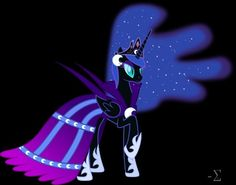 Nightmare moon ?At the gala ?