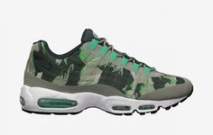 Nike Air Max 95 Tape Green Camo Available Now