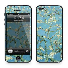 """""""migdale floare"""" de Vincent van Gogh (seria capodoperelor): piele pentru iPhone 4/4S da cod ™ – EUR € 9.19"""