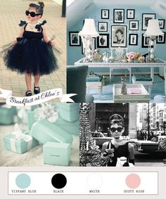 Breakfast at Tiffany's Themed Party!